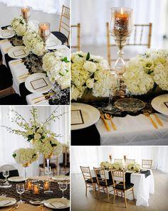 Black, White, & Gold Modern Styled Shoot | COUTUREcolorado WEDDING: colorado wedding blog + resource guide