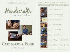 Handicrafts Made Simple: Cardboard & Paper