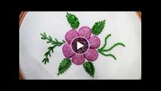 Knitting Embroidery Videos and Lessons Crochet Cord, Tunisian Crochet, Hand Embroidery Designs, Beaded Embroidery, Crochet Doilies, Crochet Flowers, Sewing Projects For Beginners, Projects To Try, Our Code