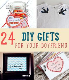 DIY Projects for the Home! 24 DIY Gifts For Your Boyfriend | http://diyready.com/24-diy-gifts-for-your-boyfriend-christmas-gifts-for-boyfriend/