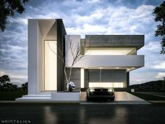 JC HOUSE architecture modern facade  ~ Great pin! For Oahu architectural design visit http://ownerbuiltdesign.com