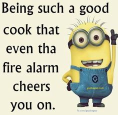 Funny Minion Joke About Cooking