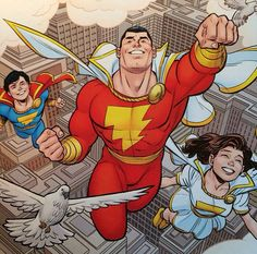 The Marvel Family by Cameron Stewart