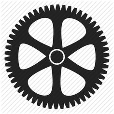 'Mechanical Cogs and Gear Wheel' by Natalya Skidan | Iconfinder