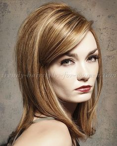 medium length hairstyles, clavi cut, LOB - Taylor Swift shaggy bob ...