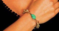 DIY Jewelry Making | Byzantine Chain Pendant Bracelet