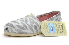 Grey Ikat Women's Vegan Classics [Toms057] - $16.00 : Toms Shoes Outlet,Cheap Toms Shoes Outlet Save Up To 80% Off