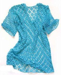 Une tunique simple à faire - La Grenouille Tricote