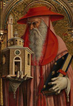 Sant'Emidio Polyptych, 1473 by Venetian painter Carlo Crivelli