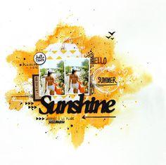 Scrap Plaisir shannon91: Tournoi Lime Citron défi#4 : Sunshine