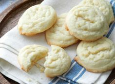 Amish Sugar Cookies Recipe | Just A Pinch Recipes  High in fat but tasty