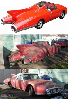 1958 Plymouth Tornado Concept car found.