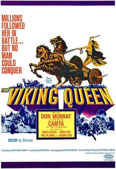 Watch The Viking Queen full hd online Directed by Don Chaffey. With Don Murray, Carita, Donald Houston, Andrew Keir. To honour her father's dying wish, Queen Salina shares the rule of Icena w Hammer Horror Films, Hammer Films, Old Movies, Vintage Movies, Viking Queen, 1969 Movie, Captain Blood, Queen Poster, Epic Movie