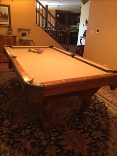 Best Sold Used Pool Tables Billiard Tables Over Time Images On - Best place to sell pool table