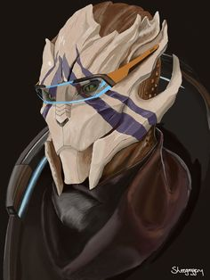 My Second digital painting: Vetra from Mass Effect Andromeda.