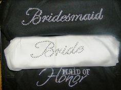 Black and White Wedding Ideas Bride Bridesmaid by uniqueandtrendy, $16.95