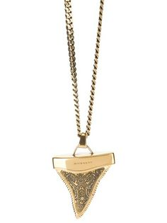 GIVENCHY - shark tooth necklace 4