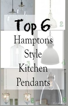 There are so many gorgeous pendant lights available, I& been busy researching and these are my top 6 Hamptons style kitchen pendant lights. Kitchen Lighting Design, Kitchen Lighting Fixtures, Kitchen Pendant Lighting, Kitchen Pendants, Pendant Lights, Kitchen Design, Hamptons Style Decor, Hamptons House, The Hamptons