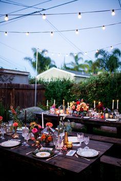Garden 10th Wedding Anniversary Party