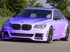 Pastel purple Beamer. Love