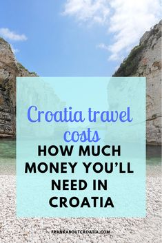 Croatia travel costs: our comprehensive guide on travel costs in Croatia. Find out how much money you'll need in Croatia: accommodation, food, transport . Hawaii Travel, Thailand Travel, Italy Travel, Bangkok Thailand, Oahu Hawaii, Asia Travel, Croatia Travel Guide, Visit Croatia, Travelling Tips