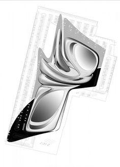 King Abdullah II House of Culture & Art Parametric Architecture, Concept Architecture, Futuristic Architecture, Sustainable Architecture, Architecture Design, Museum Architecture, Architecture Diagrams, Architecture Portfolio, Beautiful Architecture