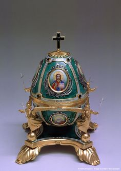 Faberge Egg from the Kremlin Museum collection.