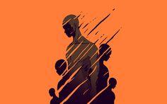 Editorial illustrations / Libération on Behance
