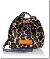 Marc by Marc Jacobs Leopard Print Calf Hair Bag