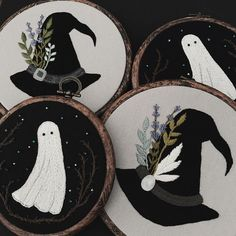 dark embroidery #emb