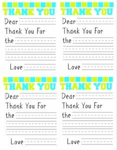 Free Printable Thank You Card For Kids | Http://www.passionforsavings.  Free Printable Religious Thank You Cards