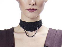 Alizé $53  #choker #chokernecklace #chokerleather #leather #fishleather #jewelry #fashionjewelry #necklace #fashion #edgy #minimal