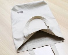 Canvas Tote Shopping Bag DIY Step by Step Photo Tutorial.