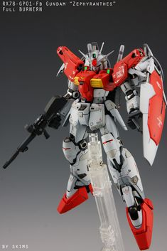 RG Gundam GP01Fb [Zephyranthes] Full Burnern: Custom by SKIMS Photoreview Wallpaper Size Images