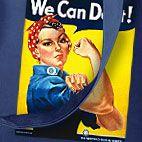 We Can Do It -nainen  kaikessa muodossa!