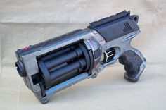 Modified Scifi Nerf Maverick - Dystopian Post Apocalyptic Nerf dart gun by SteampunkWasteland