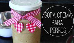 ♡ Como hacer SOPA CREMA PARA PERROS, COMIDA CASERA  para PERROS.SUPER FA…