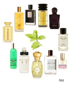 From Black Tea to Green Tea to Maté: Imperial Tea, Russian Tea, Camelia, Menthe Fraiche, Fig Tea, Oolang Infini, L'ile de Thé, Lothair, CDG Tea, Tea for Two, and Inlé, #niche #perfume #luckyscent