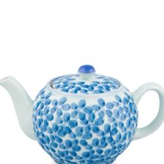 Japanese teapot, love the blue and white
