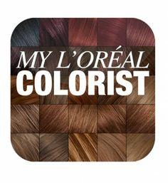 Trouver sa coloration cheveux sur l'application « My L'Oreal Colorist »