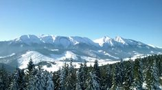 The most beautiful view from Bachledová dolina Most Beautiful, Pure Products, Mountains, Winter, Nature, Travel, Mood, Design, Winter Time