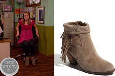 Good Luck Charlie: Season 4 Episode 8 Teddy's Fringe Ankle Boots