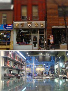 Fluevog Shoes - Queen Street West, Toronto, Ontario, Canada (via Fluevog.com)