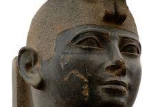 Pharaoh Taharka, 25th Dynasty, Beheaded by conquerors, found by Charles Bonnet, 2004?, Black Pharaohs, Nubians, Sudan, Kerma, Statues, Late Period.