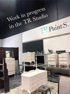 Chalk Paint, Studios, Colours, Contemporary, Interior, Stuff To Buy, Furniture, Home Decor, Indoor