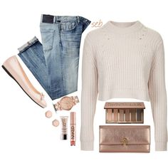 """""""Rose Gold"""" by coombsie24 on Polyvore"""