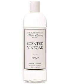 The Laundress Scented Vinegar | With these tools and cleansers in your cabinet, you can spend less time spring cleaning and more time actually enjoying the warmer weather.