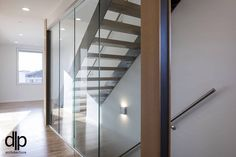 second floor hall Passive House, Green Architecture, Spring 2016, Second Floor, Building A House, Stairs, Flooring, Furniture, Design