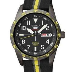 Seiko 5 Finder - Automatic Watch - specifications, links to sellers, similar watches and accessories Seiko 5 Automatic, Automatic Watch, Seiko 5 Watches, Mechanical Watch, Casio Watch, Sport, Chronograph, Watches For Men, How To Find Out