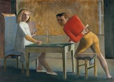 The Card Game - Balthus